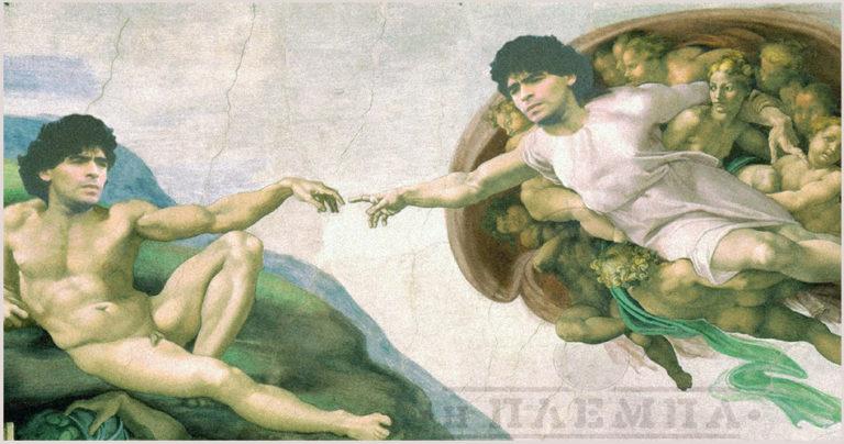 Diego touch Diego Michelangelo
